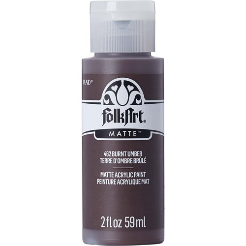 FolkArt ® Acrylic Colors - Burnt Umber 2 oz.