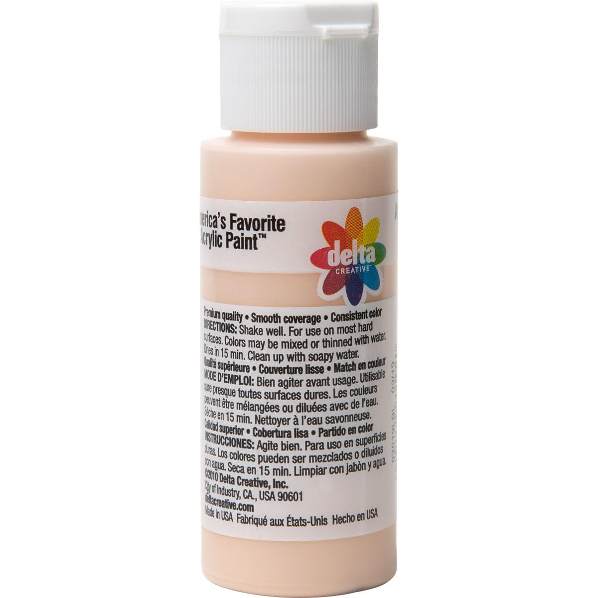 Delta Ceramcoat ® Acrylic Paint - Rosy Beige, 2 oz.
