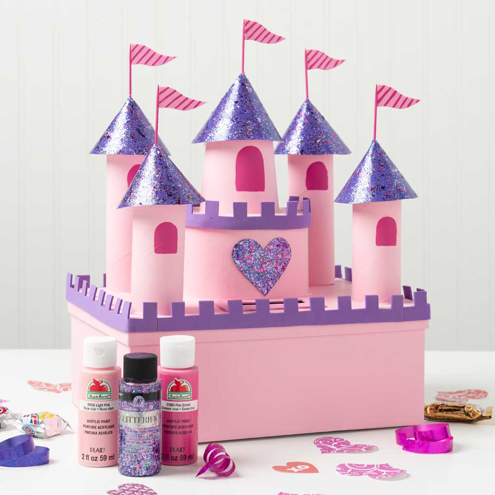 Princess Castle Valentine's Day Box