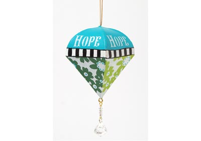 Hope, Joy and Peace Ornaments