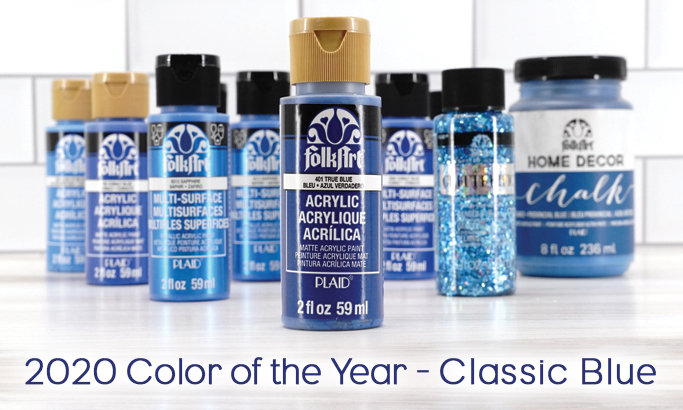 2020 Color of the Year - Classic Blue