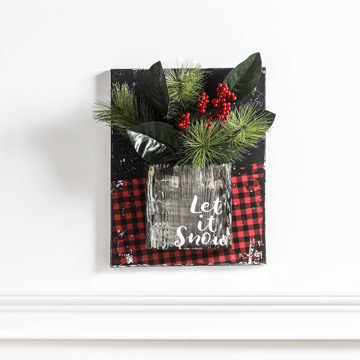 Holiday Cheer - 3D Floral Wall Art