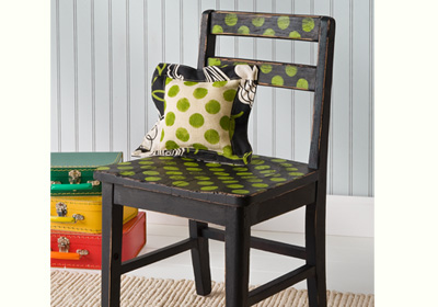 Funky Stenciled Chair