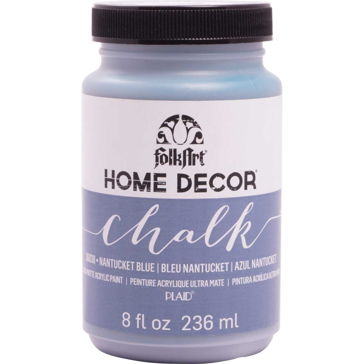 FolkArt ® Home Decor™ Chalk - Nantucket Blue, 8 oz. - 36038