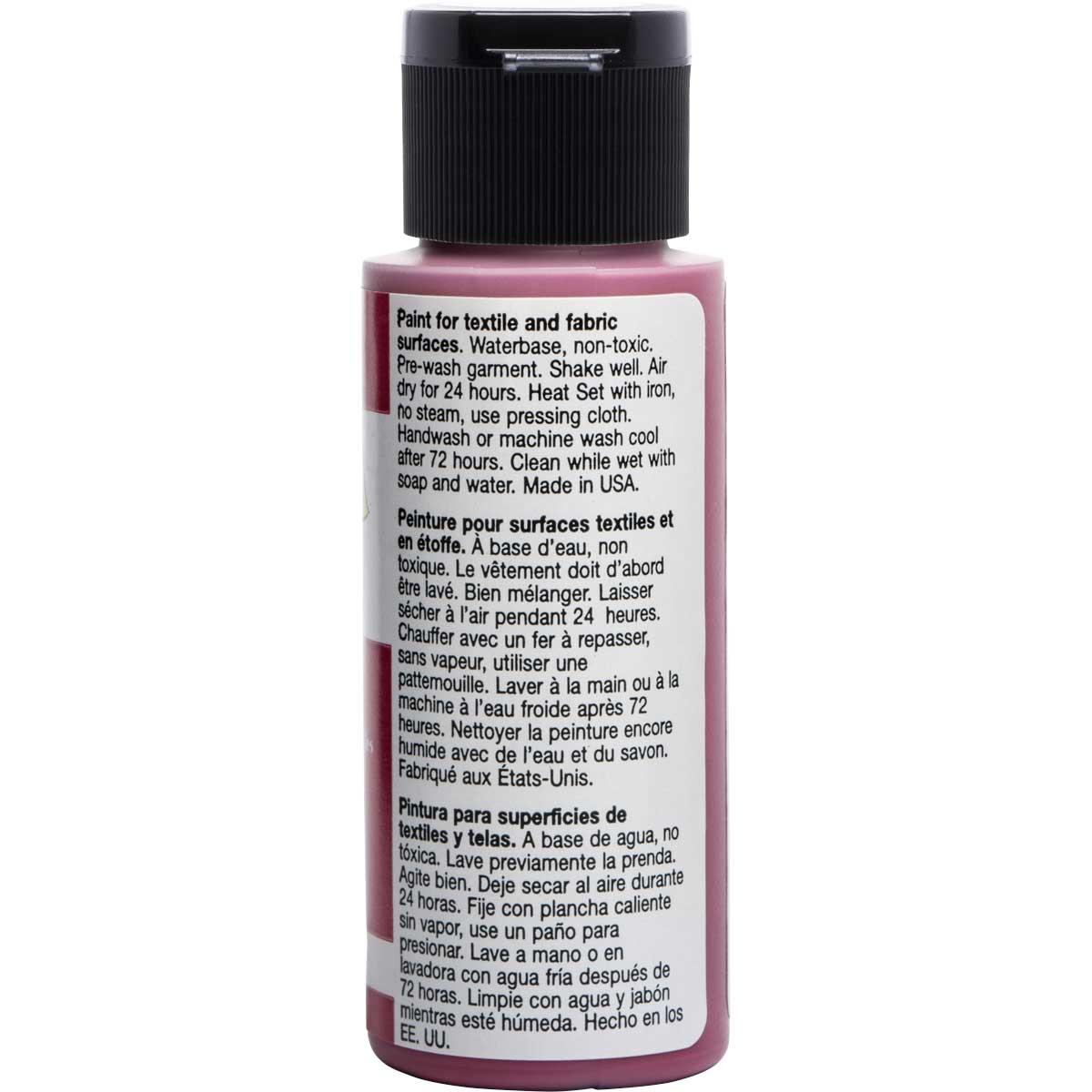 FolkArt ® Fabric™ Paint - Brush On - Magenta