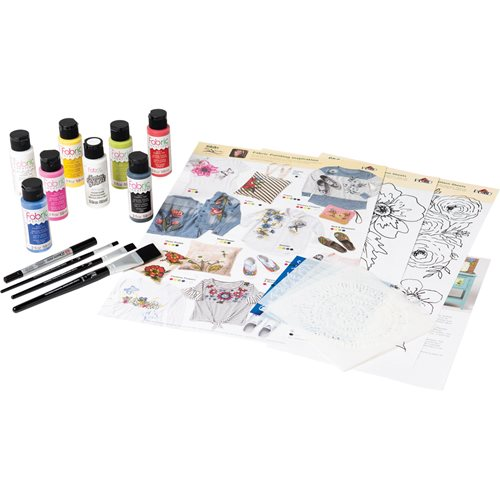 Fabric Creations™ One Stroke™ Fabric Paint Kit