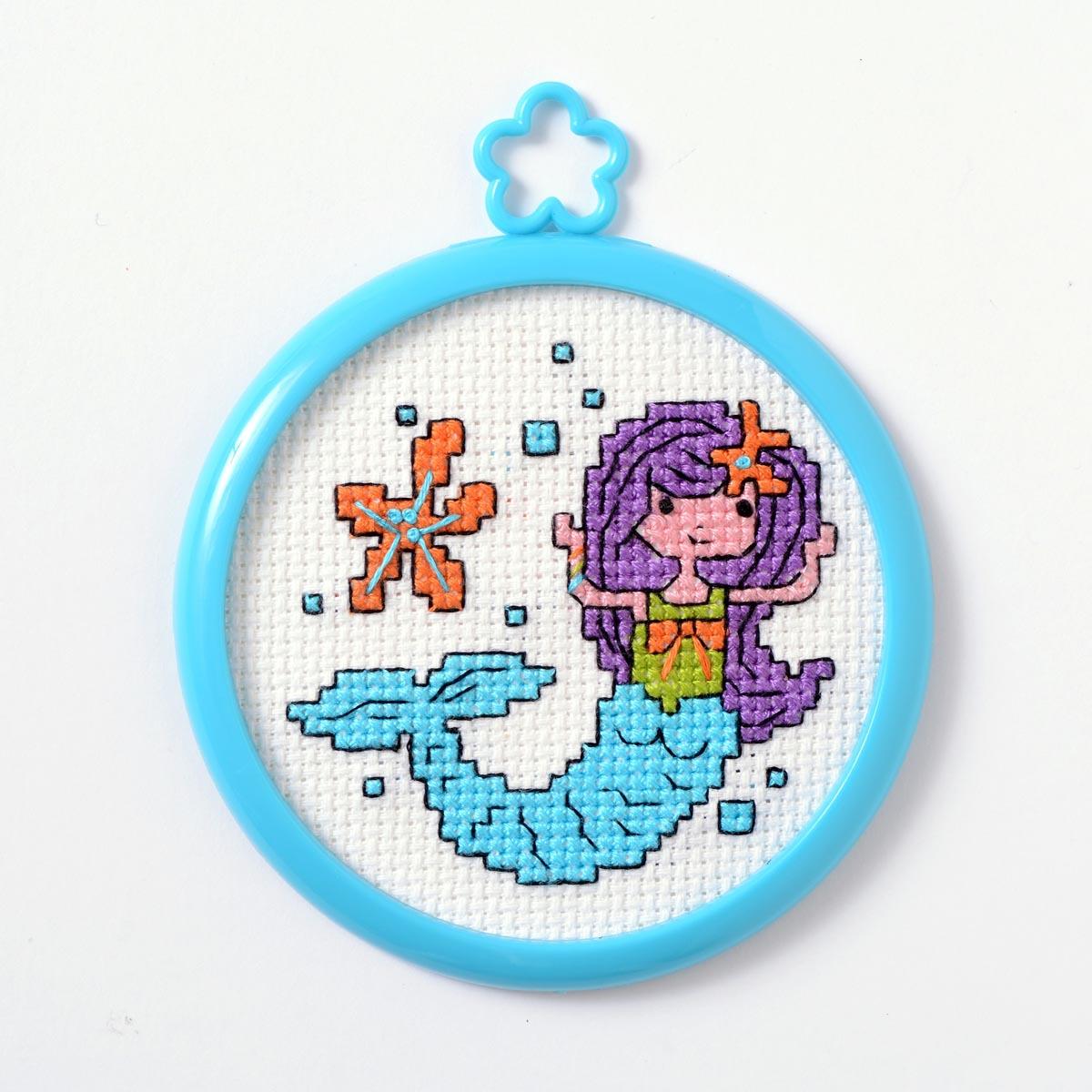 Bucilla ® My 1st Stitch™ - Counted Cross Stitch Kits - Mini - Mermaid