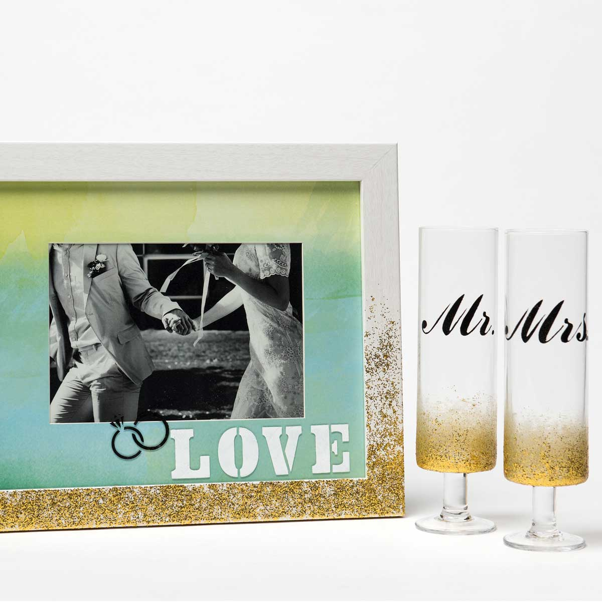 FolkArt ® Peel & Stick Painting Stencils - Our Wedding