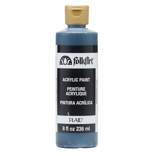 FolkArt ® Acrylic Colors - Licorice, 8 oz. - 989