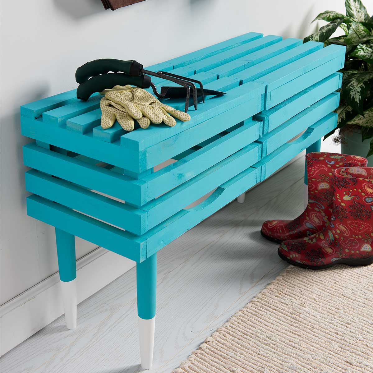 Crate Bench