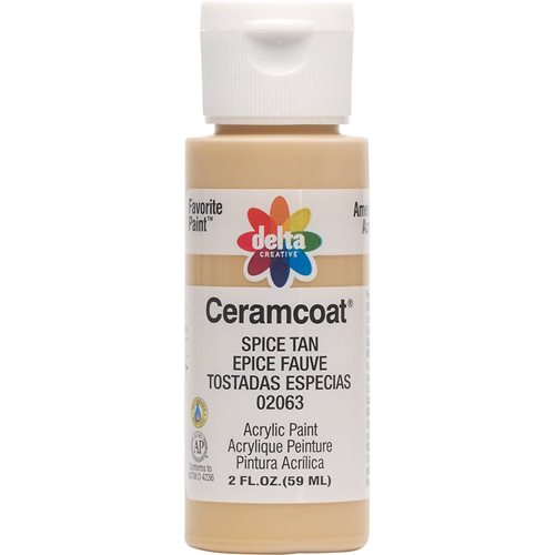 Delta Ceramcoat ® Acrylic Paint - Spice Tan, 2 oz.