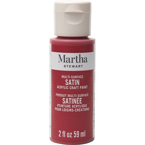 Martha Stewart® 2oz Multi-Surface Satin Acrylic Craft Paint - Tartan Red