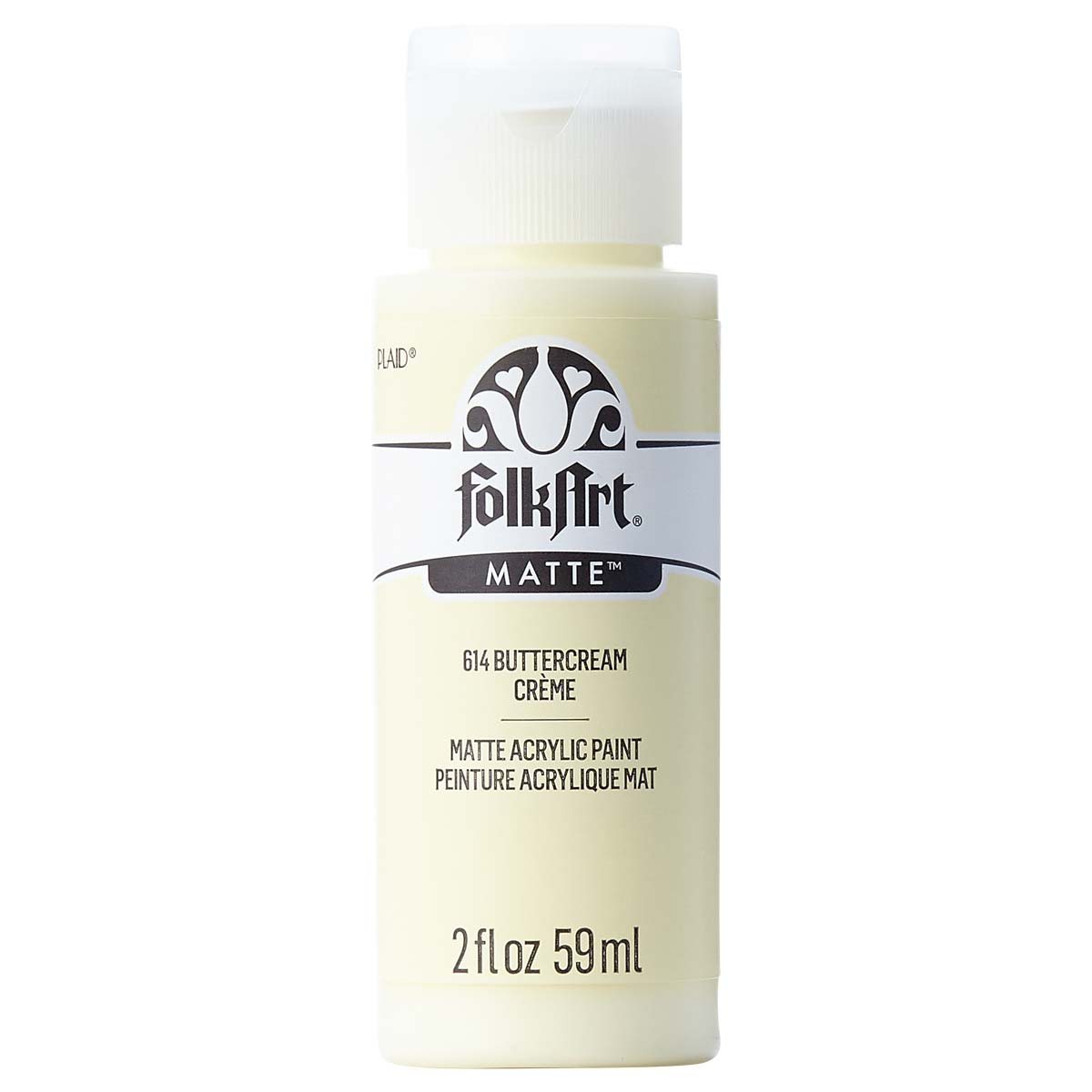 FolkArt ® Acrylic Colors - Buttercream, 2 oz.