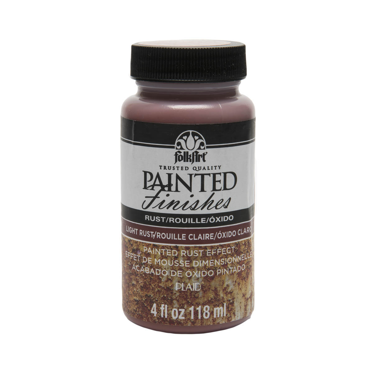 FolkArt ® Painted Finishes - Rust Red, 4 oz.