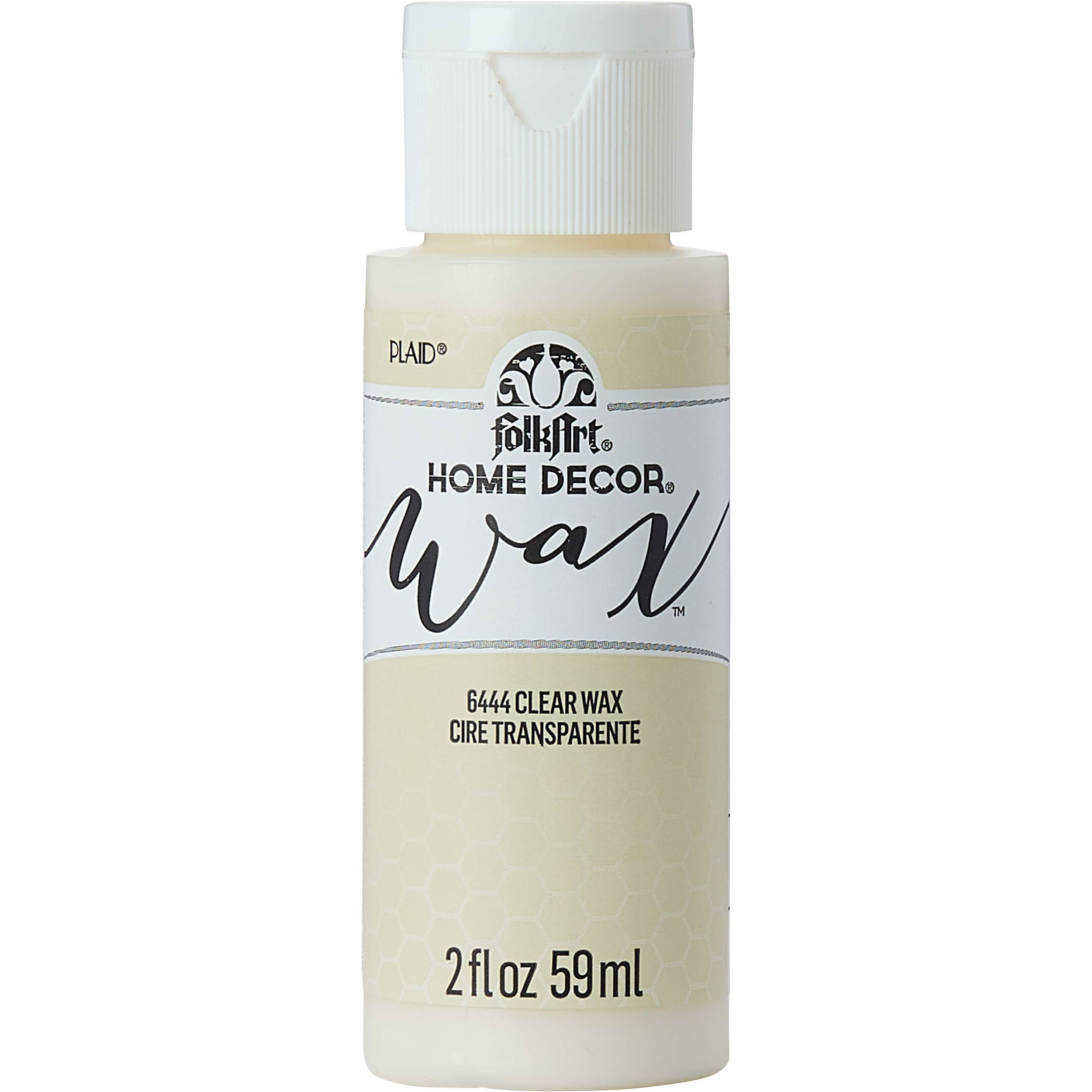 FolkArt ® Home Decor™ Wax - Clear, 2 oz. - 6444
