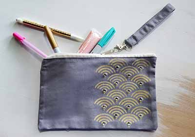 Glam Pencil Pouch