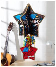 Festive Hanging Graduation Stars