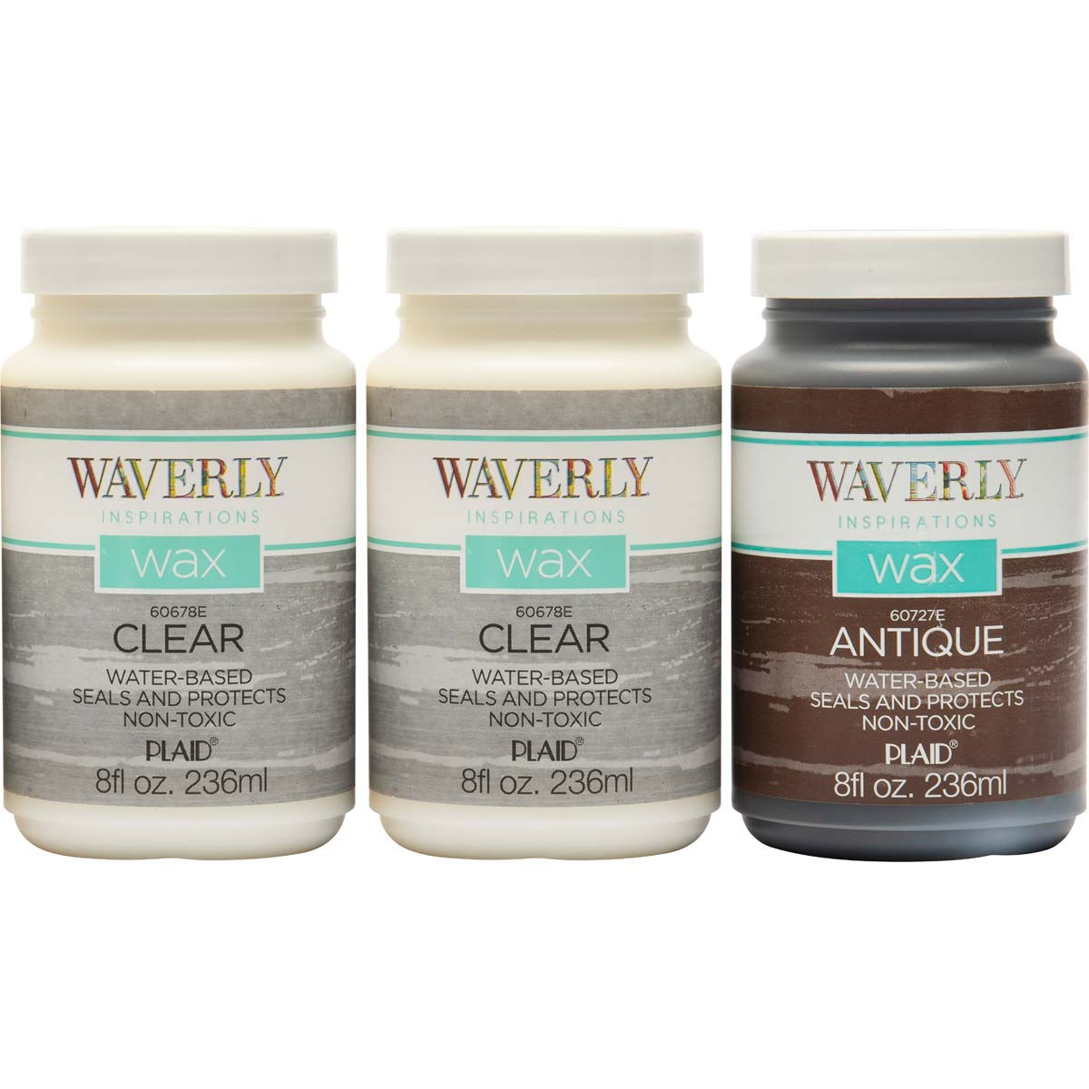 Waverly ® Inspirations Wax Set - Clear and Antique, 3 pc. - 13409