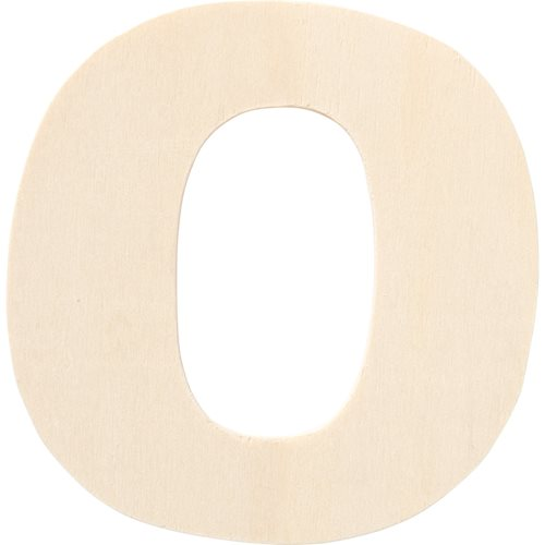 Plaid ® Painter's Palette™ Wood Letter - O. 4 inch - 23879