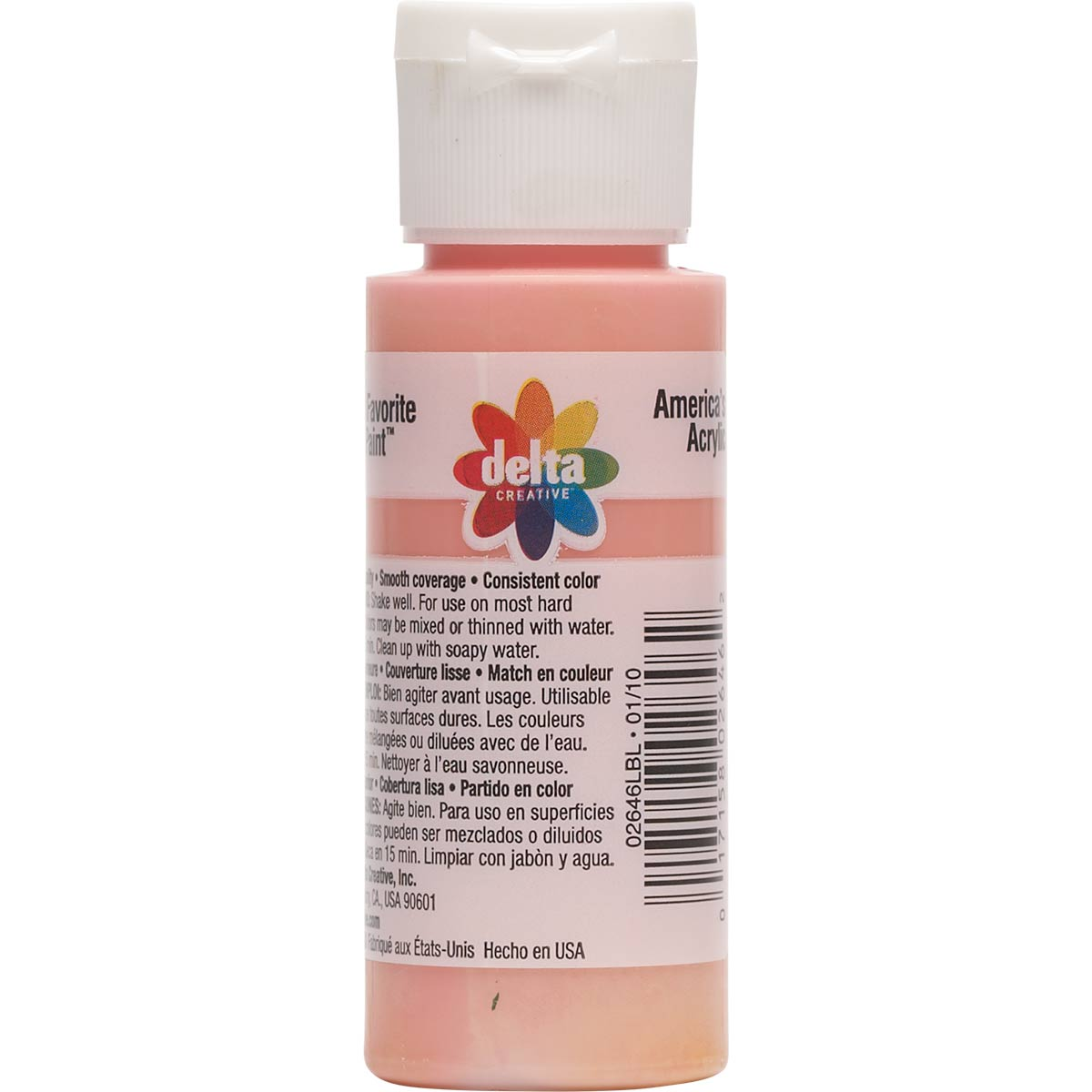 Delta Ceramcoat ® Acrylic Paint - Pop Pink, 2 oz. - 026460202W