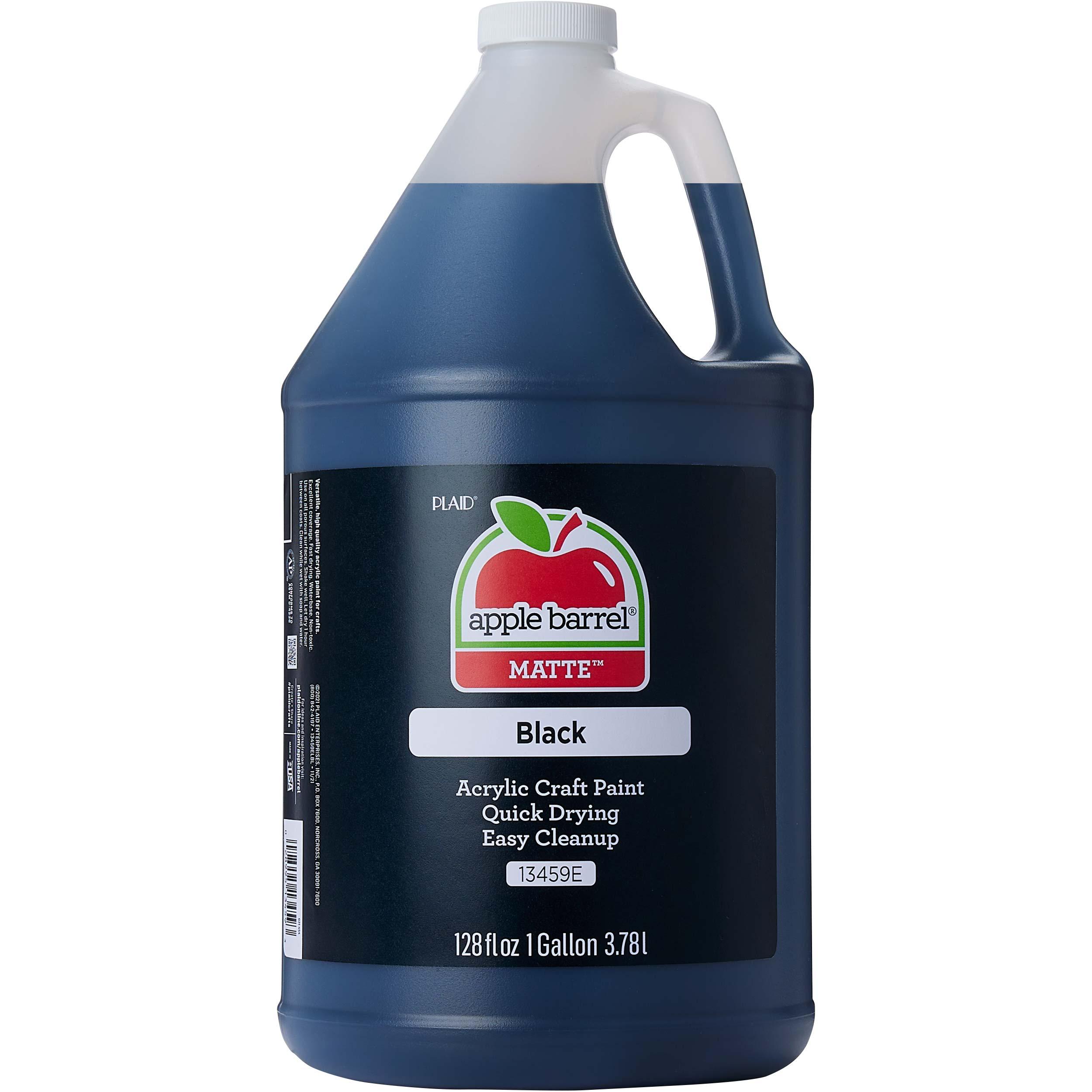 Apple Barrel ® Colors - Black, Gallon - 13459E