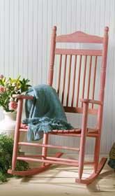 Rhubarb Rocking Chair