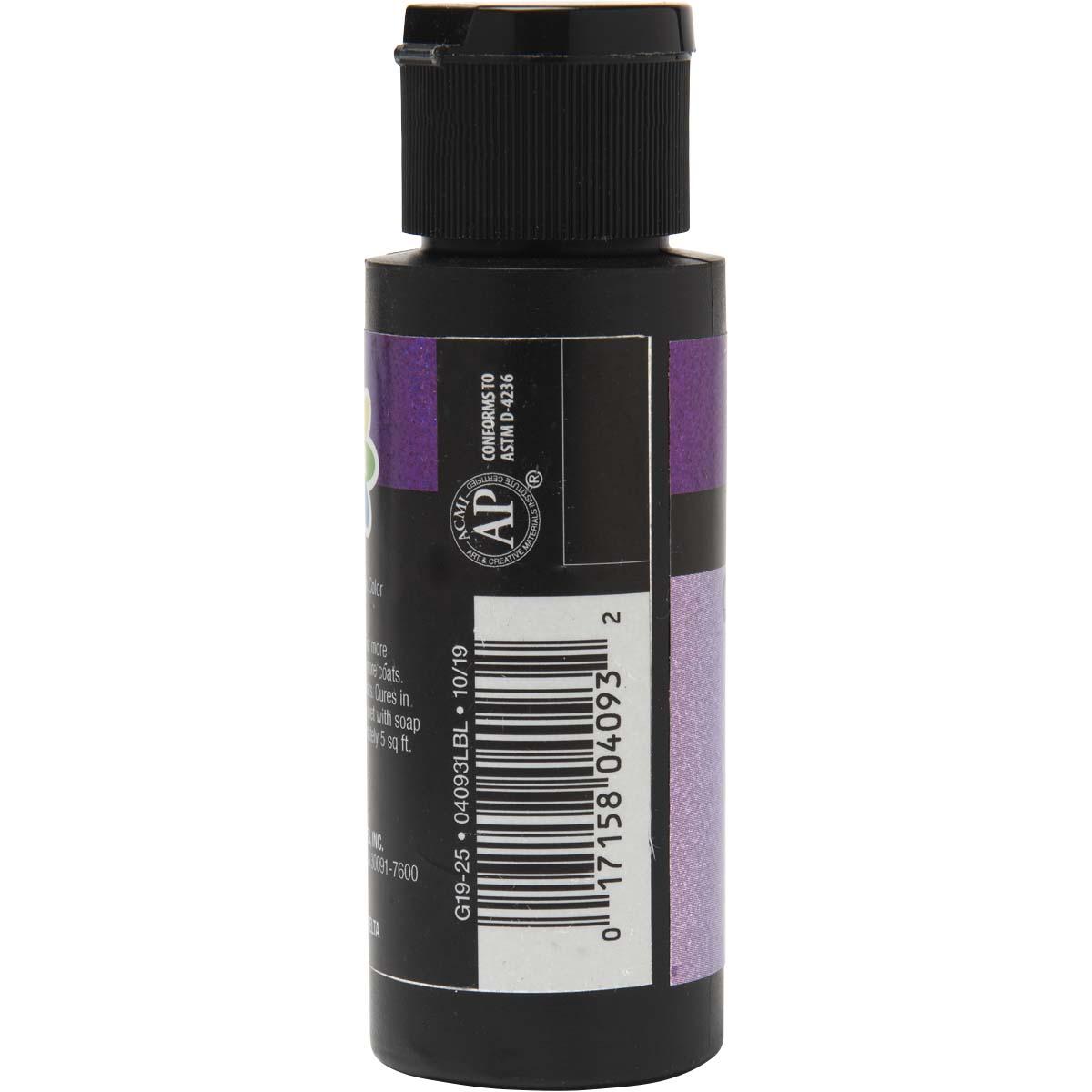 Delta Ceramcoat ® Cosmo Glaze™ - Violet-Blue-Green, 2 oz. - 04093