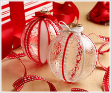 Ribbon Ornaments