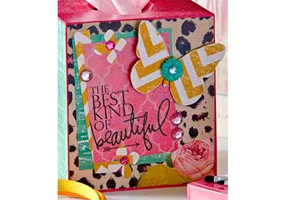 Girly Vanity Tissue Box