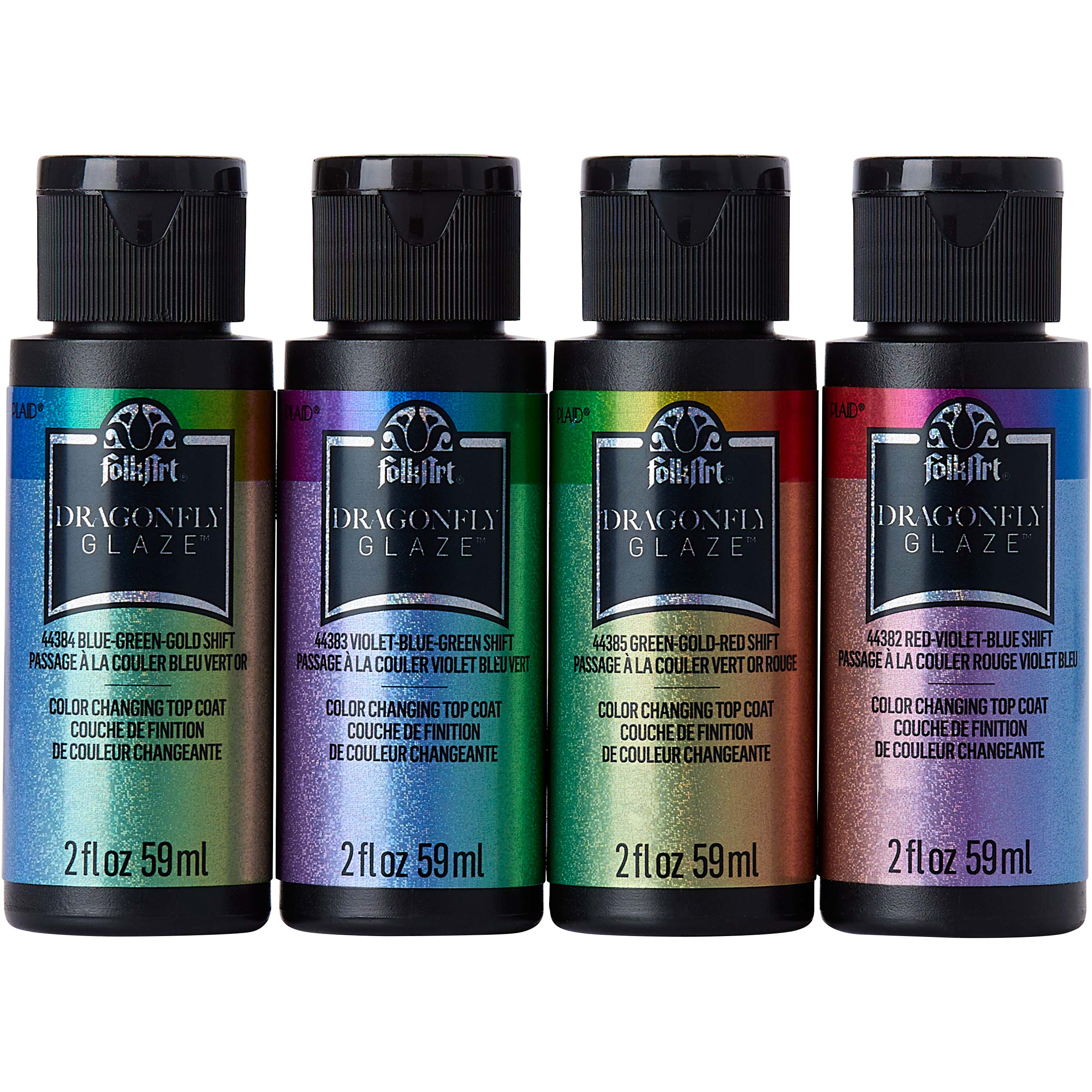 FolkArt ® Dragonfly Glaze™ Paint Set 4 Color - PROMODG