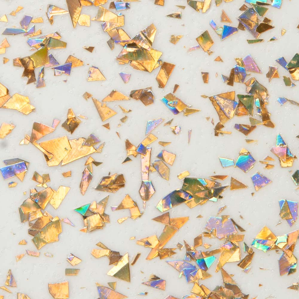 Martha Stewart® 2oz Multi-Surface VIntage Leaf Glitter Acrylic Craft Paint - Iridescent Gold