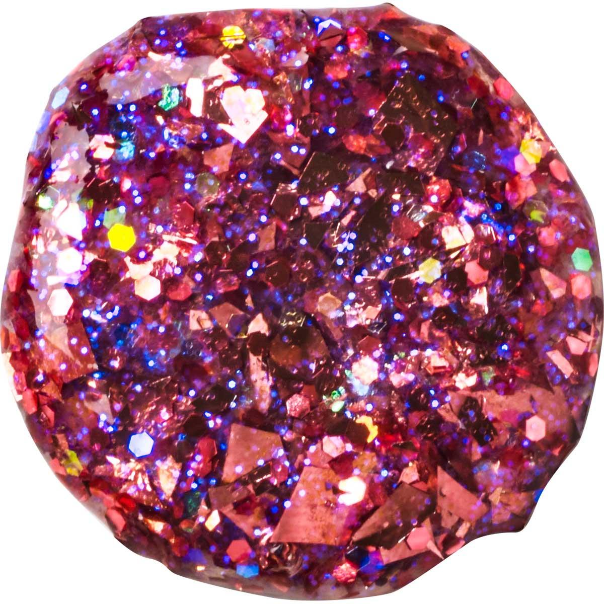 FolkArt ® Glitterific™ Acrylic Paint - Hot Pink, 2 oz.