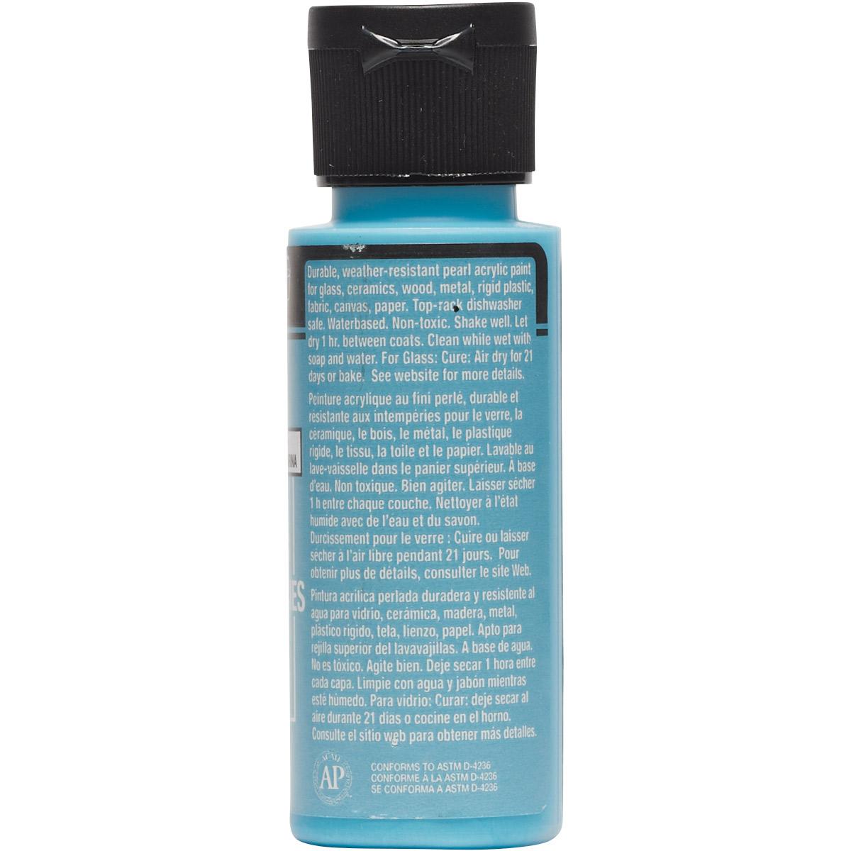 FolkArt ® Multi-Surface Pearl Acrylic Paints - Aqua Moire, 2 oz.