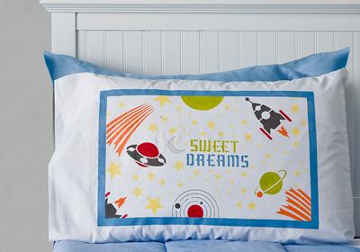 Handmade Charlotte Celestial Pillowcase