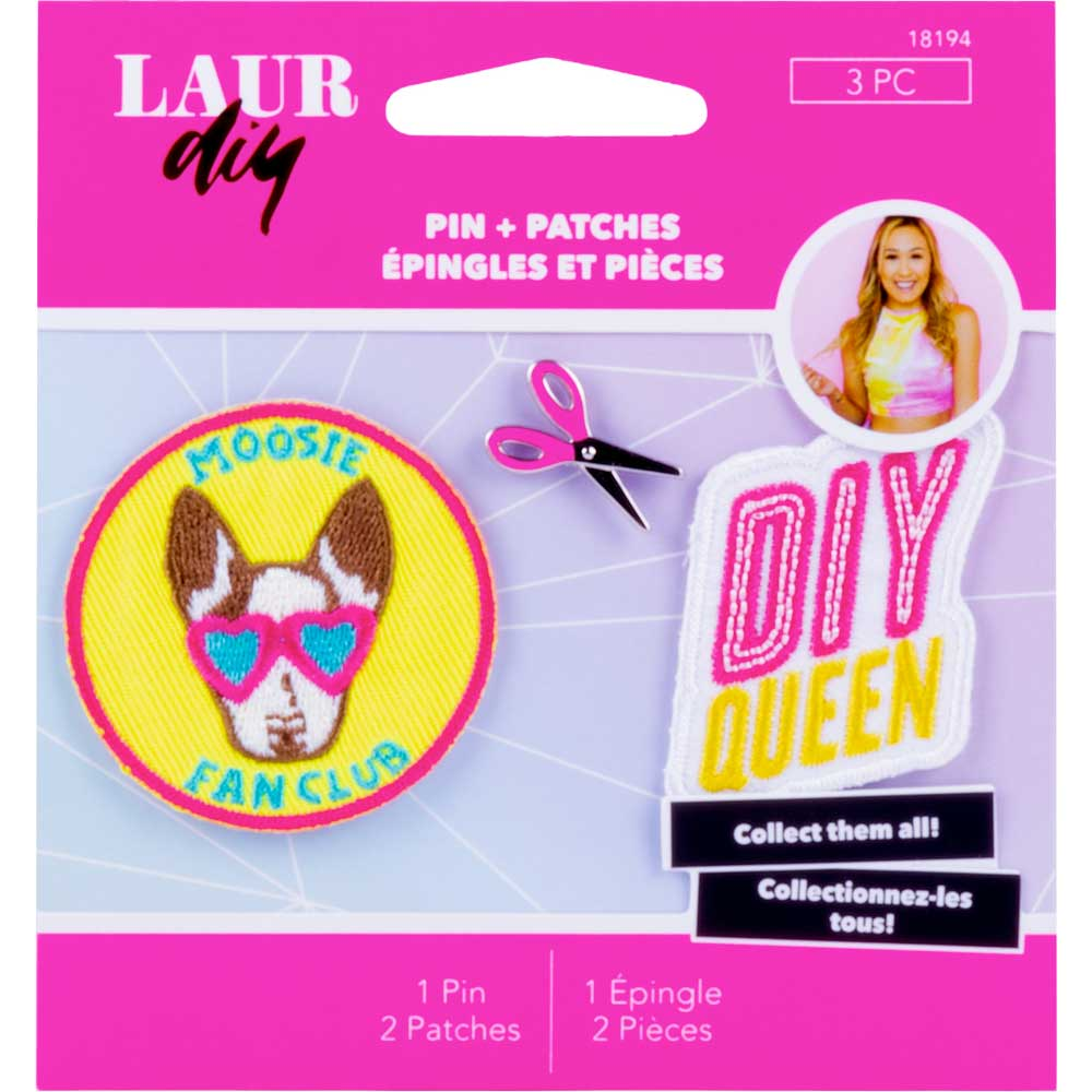 LaurDIY ® Pins & Patches - Sweetie Pie