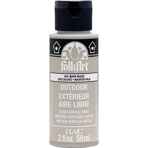 FolkArt ® Outdoor™ Acrylic Colors - Barnwood, 2 oz.