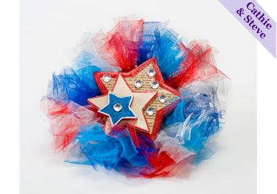 Patriotic Mini Wreath