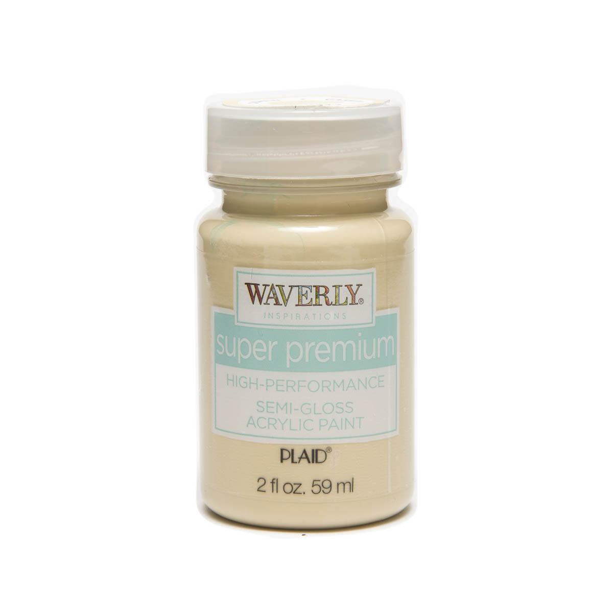 Waverly ® Inspirations Super Premium Semi-Gloss Acrylic Paint - Cashew, 2 oz. - 60602E