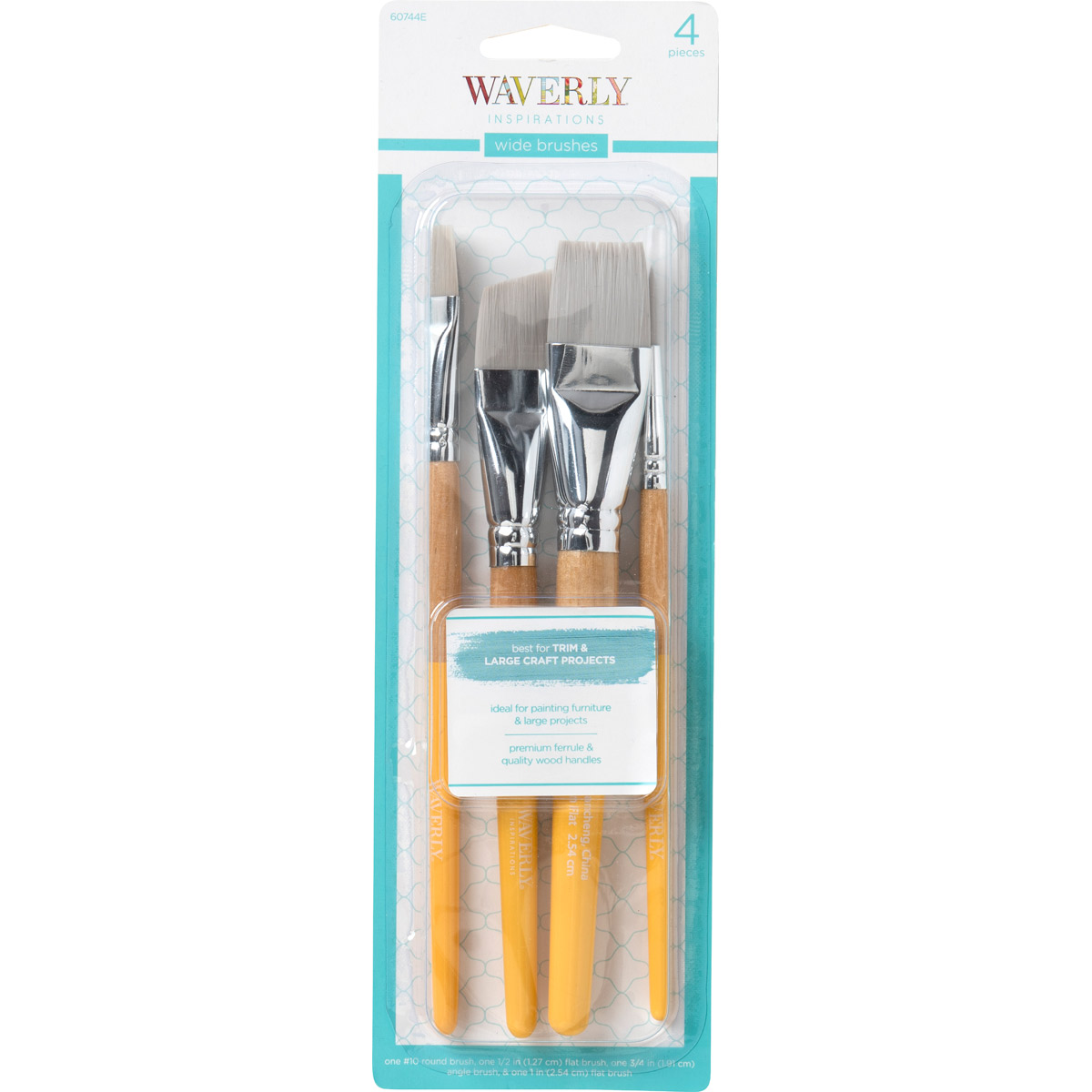 Waverly ® Inspirations Brushes - Wide Set, 4 pc. - 60744E