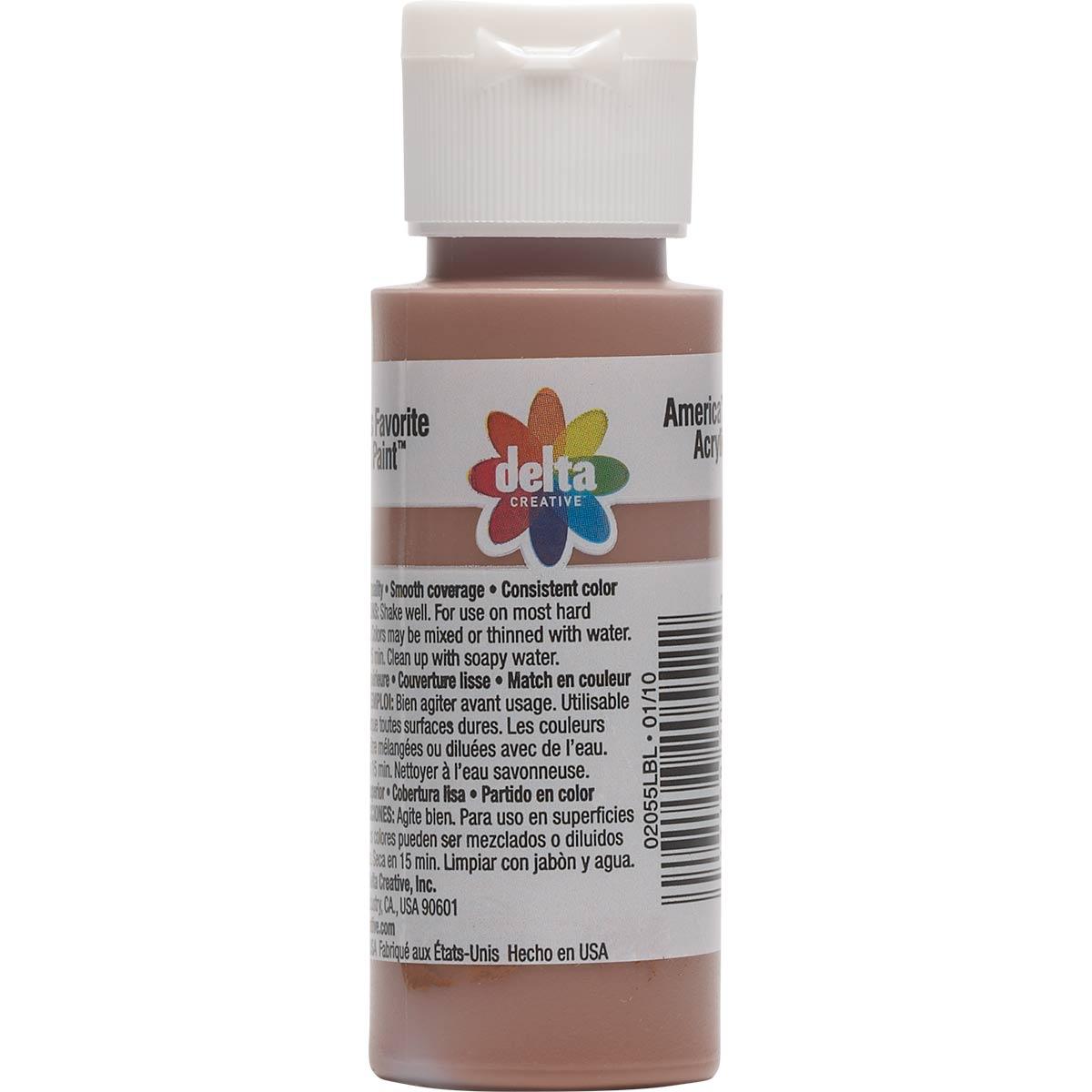 Delta Ceramcoat ® Acrylic Paint - Autumn Brown, 2 oz.