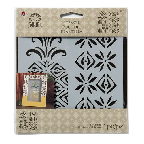 FolkArt ® Painting Stencils - Small - Pineapple