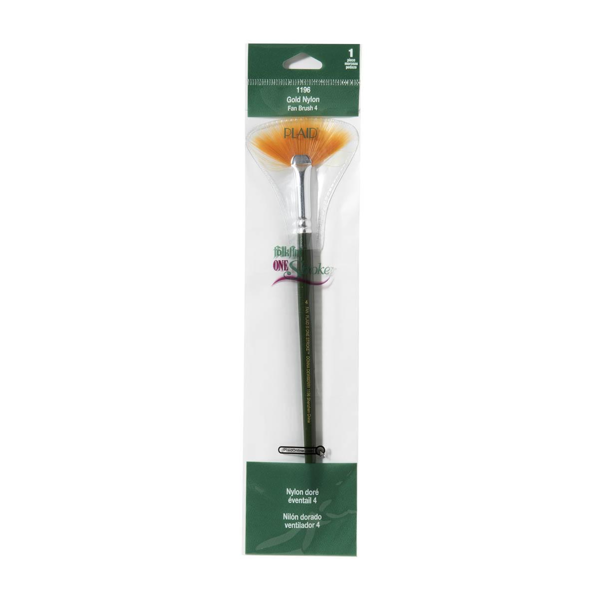 FolkArt ® One Stroke™ Brushes - Fan