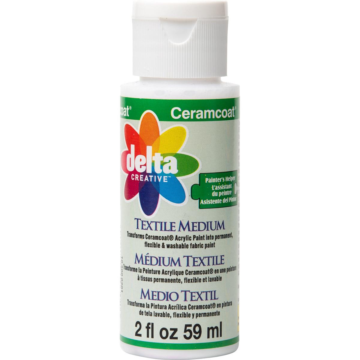 Delta Ceramcoat ® Mediums - Textile, 2 oz. - 103000201W