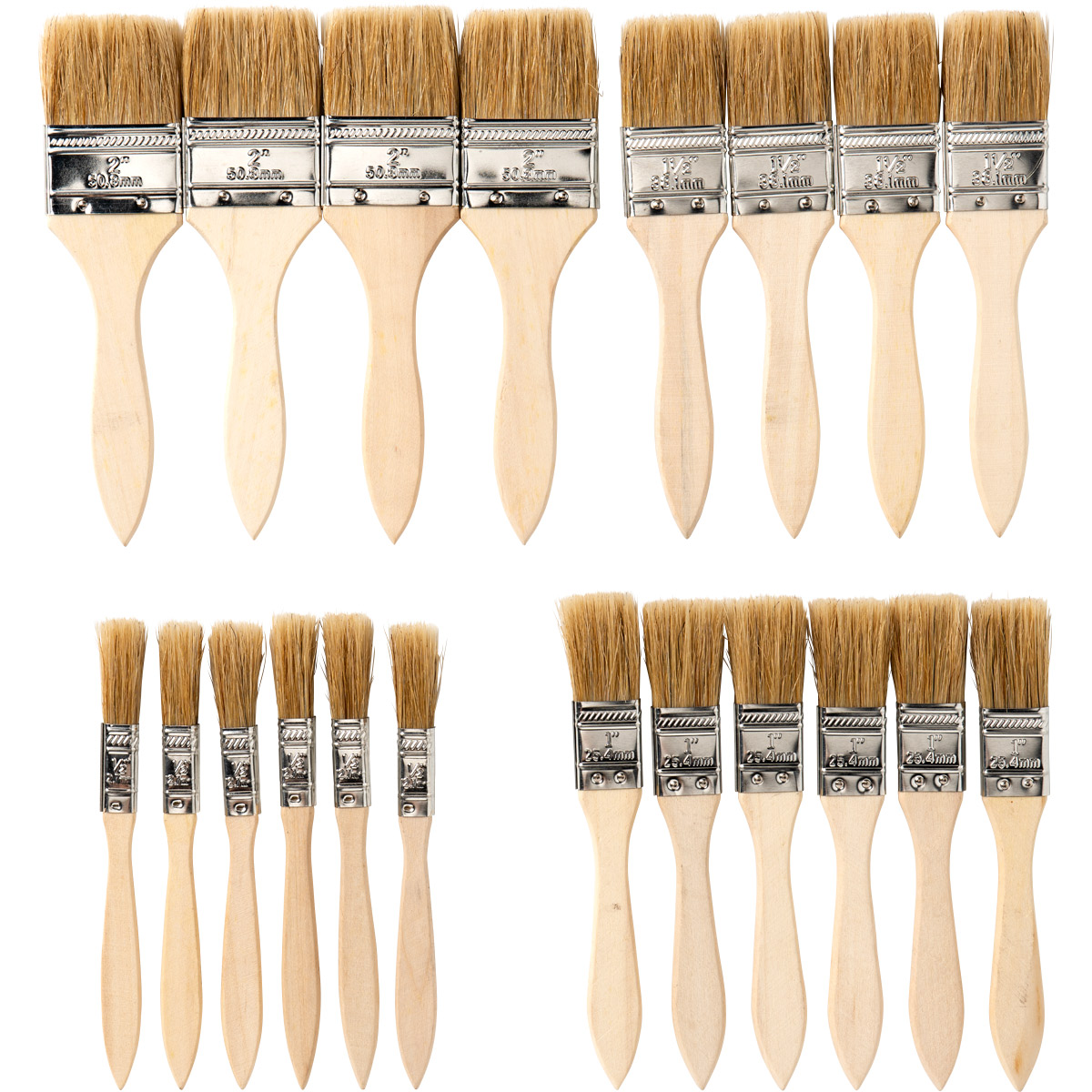 Apple Barrel ® Brush Sets - Chip Brush Value Set, 20 pc.