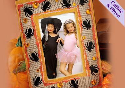 Spooky Spider Frame