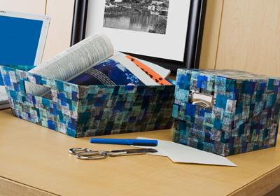 Modern Desk Storage Set