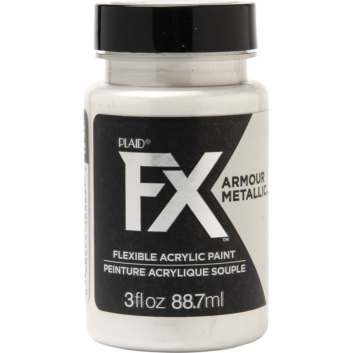 PlaidFX Armour Metal Flexible Acrylic Paint - New Liberty, 3 oz. - 36889