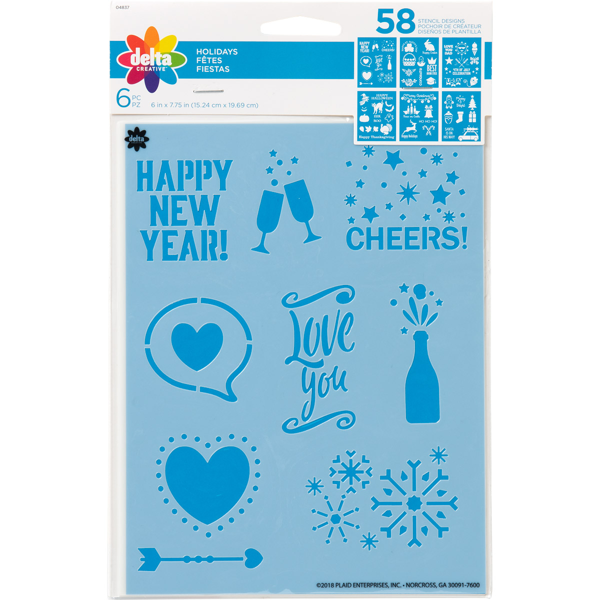Delta Creative™ Stencil - Holiday - 04837