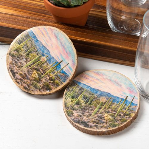Western Photo Transfer Coasters