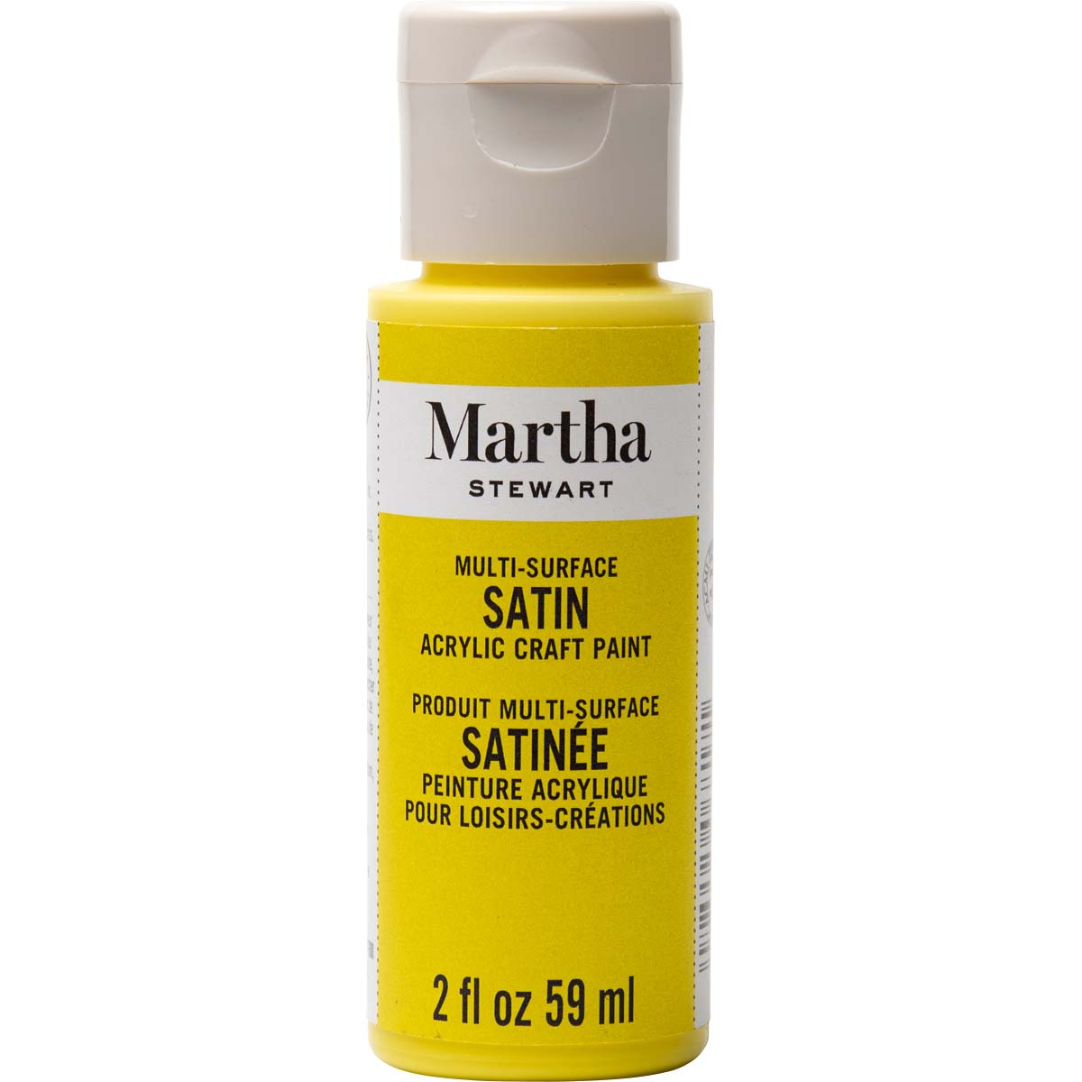 Martha Stewart ® Multi-Surface Satin Acrylic Craft Paint - Meyer Lemon, 2 oz. - 33544CA